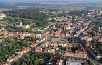 The town of Lysa nad Labem