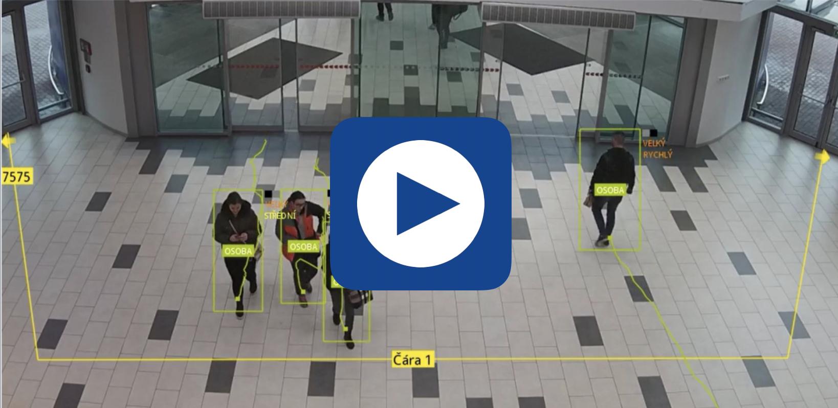 Detekce pohybu a počítání osob