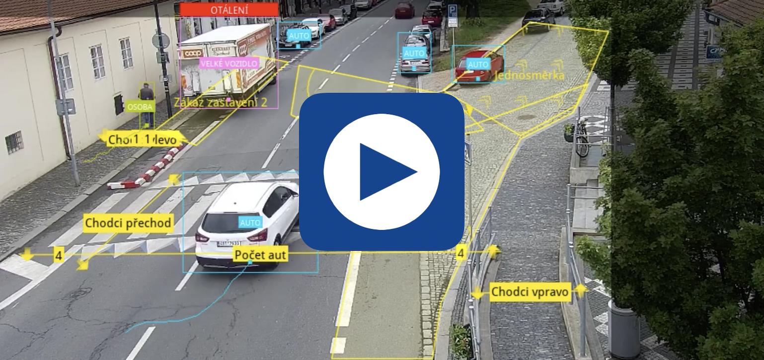 Detekce pohybu vozidel